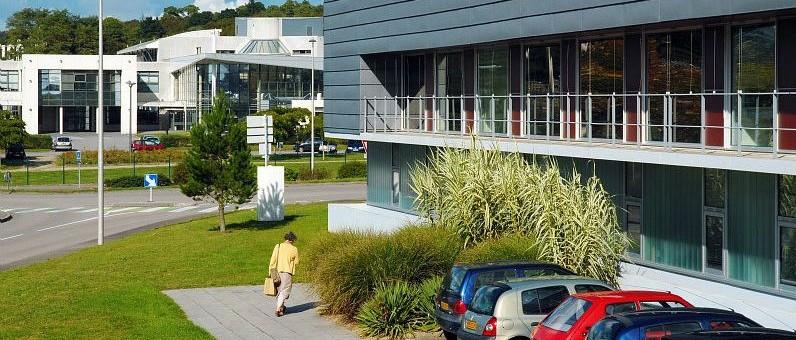 Technopole et Hotel d entreprises Ph L FLAGEUL Ville et Quimper Communauté
